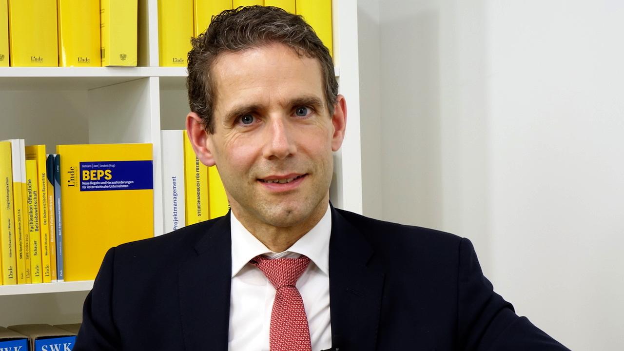 """""""Eine Senkung der KöSt würde dem Wirtschaftsstandort Österreich einen gewaltigen Schub nach vorne bringen"""" - Alfred Heiter, Industriellenvereinigung. (Bild: © Linde Verlag)"""