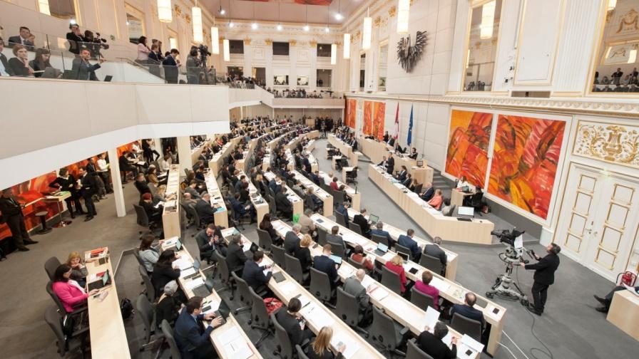 Einkommenssteuer sinkt - Erleichterung für Unternehmen. (Bild: © Parlamentsdirektion / Thomas Jantzen)