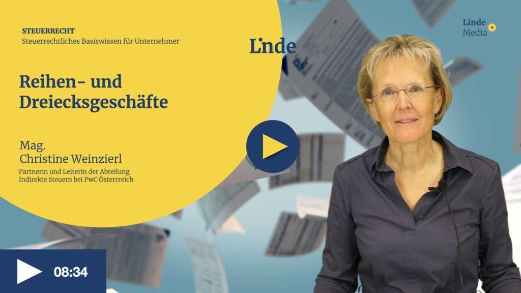VIDEO: Reihen- und Dreiecksgeschäft – Christine Weinzierl