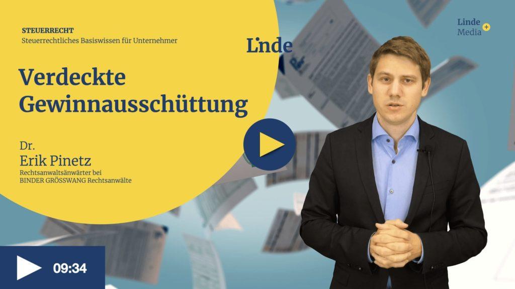 VIDEO: Verdeckte Gewinnausschüttung