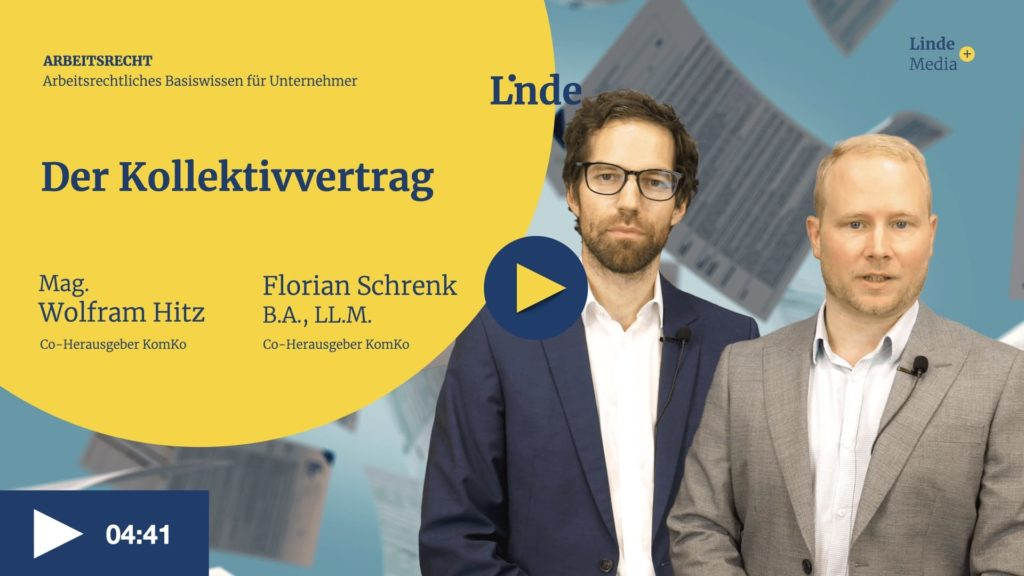 VIDEO: Der Kollektivvertrag