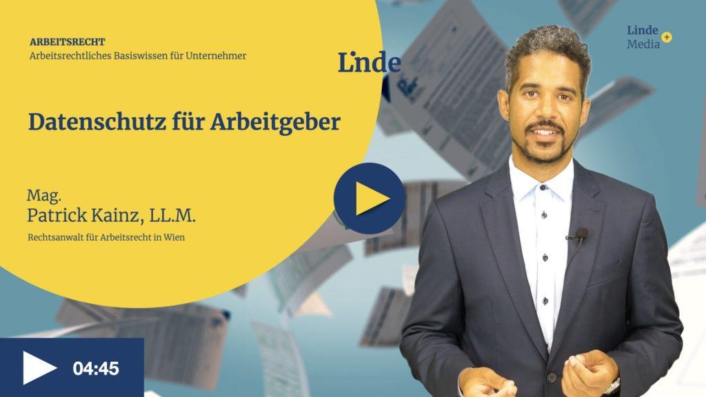 VIDEO: Datenschutz für Arbeitgeber