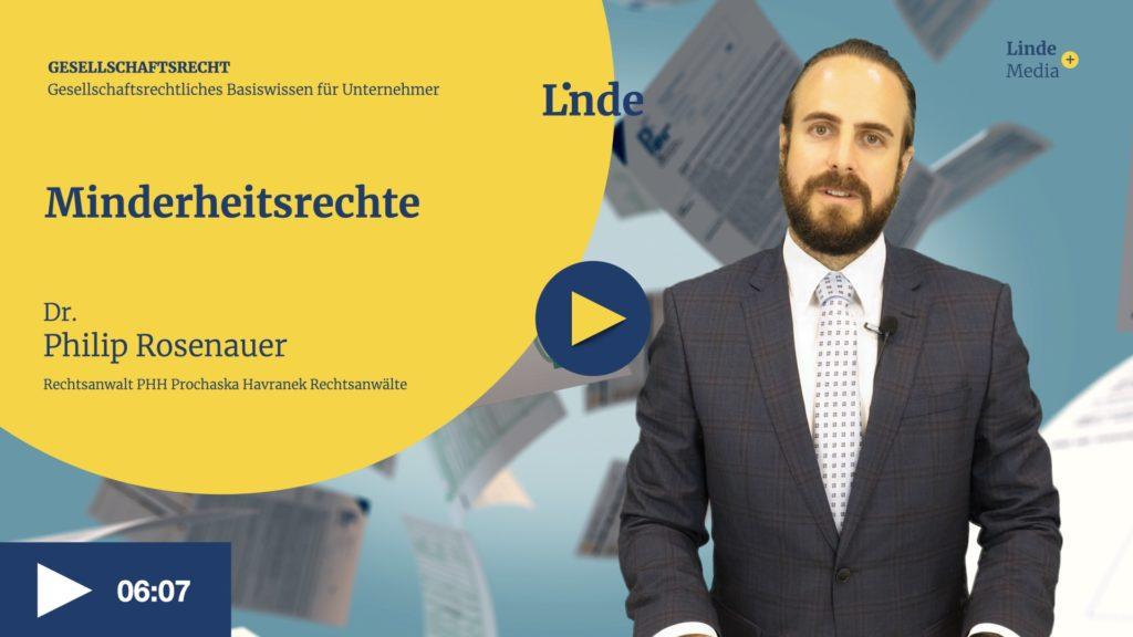 VIDEO: Minderheitsrechte – Philip Rosenauer