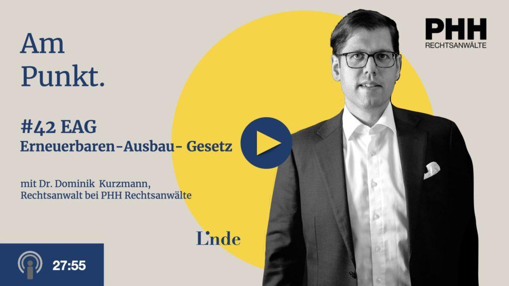 Am Punkt #42 mit Dominik Kurzmann – Erneuerbaren – Ausbau- Gesetz – EAG