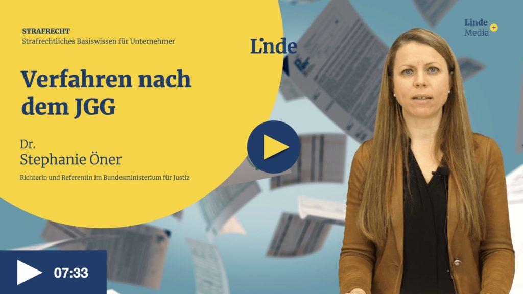VIDEO: Verfahren nach dem JGG – Stephanie Öner