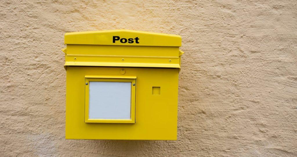 EUR 9,5 Mio. Strafe für Post wegen fehlender E-Mail-Kontaktmöglichkeit